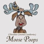 Moose Poops – Chocolate Covered Cranberries