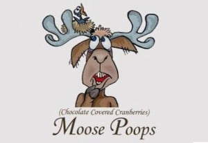 Moose Poops Candies
