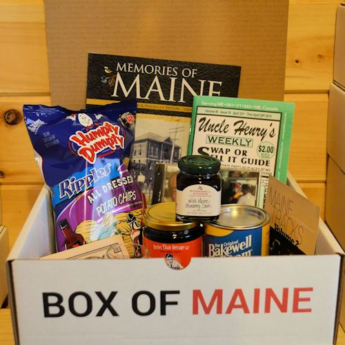 Five Item Box Of Maine