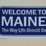 Maine Refrigerator Magnet – Welcome to Maine