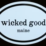 Maine Decal – Wicked Good!