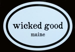 Wicked Good Maine decal