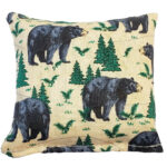 Balsam Fir Pillow – Black Bear
