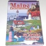 Maine Lighthouses Playing Cards