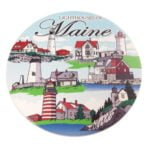 Lighthouses of Maine Coaster