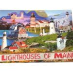 Maine Lighthouse Postcard