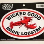 Maine Decal – Wicked Good Lobster!