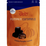 Dark Chocolate Pumpkin Caramels