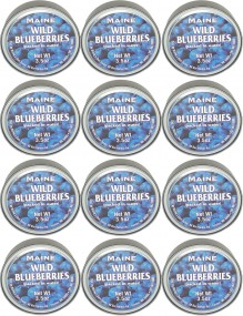 Order A Box Of Wild Maine Blueberries