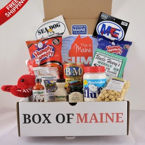 7 Item Box of Maine