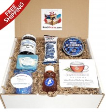 Order A 7-Item Wild Maine Blueberry Sampler Box