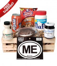Order A Limited Edition Box of Maine with Cherry Wood Crate