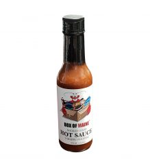 Box of Maine Wicked Good Hot Sauce 6oz
