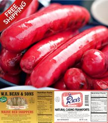 Order Maine's famous Red Hot Dogs