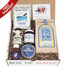 Order a 7-item Limited Edition Maine Breakfast Box