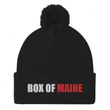Box of Maine Pom-Pom Beanie